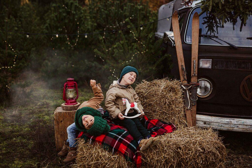 Mini sesja świąteczna w plenerze